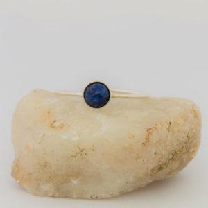 """Bague sertie """"Collection Pure"""", Lapis Lazuli 6 mm"""