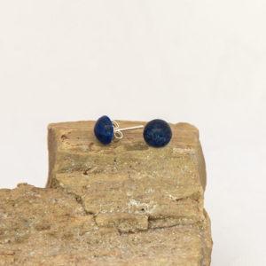 """Boucles d'oreilles """"Les Petites Puces"""", Lapis Lazuli"""