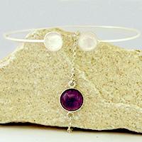 Bracelets sertis - Collection Pure