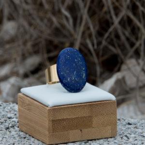 Bagues cabochon en pierres naturelles