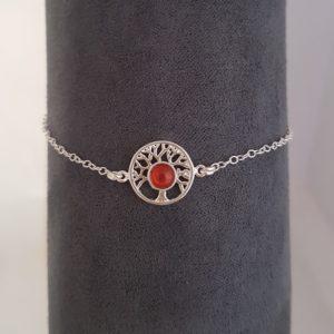 Bracelet Arbre de Vie Cornaline